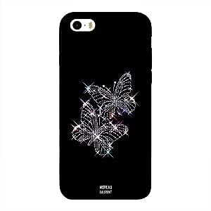 iPhone 5/ 5s/ SE Case Cover Lighten White Butterflies, Moreau Laurent Designer Phone Cases & Covers