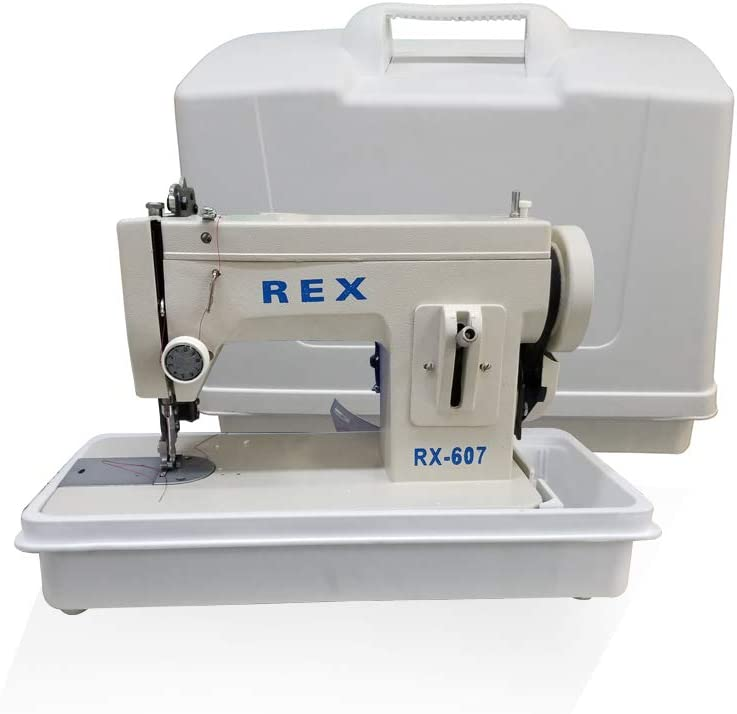 REX 607Z Zigzag portátil para caminar con luz LED con funda de ...