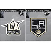 2016 NHL Los Angeles Kings 50th Anniversary & 2017 All Star Combo Jersey Patch by Patch Collection