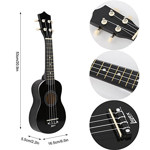 lujex best soprano ukulele great fun for adult beginners and children love ukuleles bassist hq. Black Bedroom Furniture Sets. Home Design Ideas