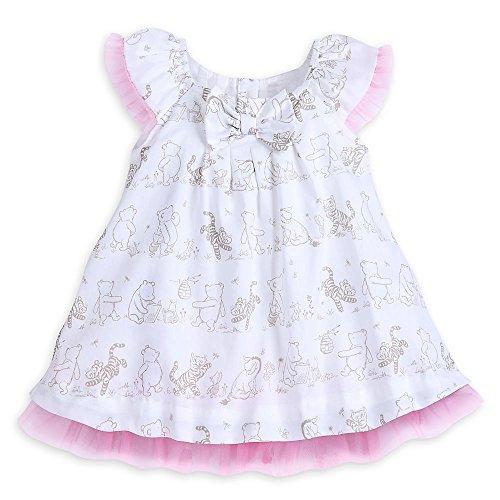 Fancy Dress Size 20 (Disney Winnie The Pooh Layette Fancy Dress for Baby Size 18-24 MO)