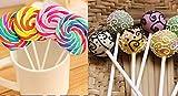 Qingsun Lollipop Sticks 4-Inch Sucker Sticks for