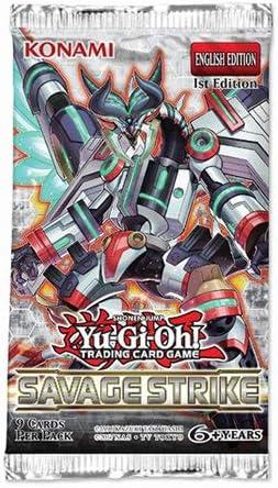 Yu-Gi-Oh! KONSSBB Savage Strike Booster Pack: Amazon.es: Juguetes y juegos