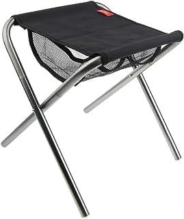 Baoblaze Chaise de Tabouret Pliable en Aluminium Léger pour Plage Pêche Camping Plein Air