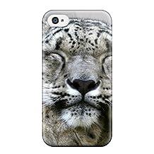 New Arrival WwSarYg9664GCzXr Premium Iphone 4/4s Case(snow Leopard)