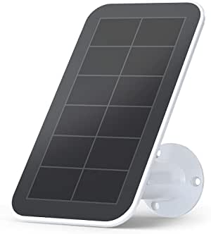 Arlo Accessory - Solar Panel Charger | Weather Resistant,  8 ft Magnetic Power Cable, Adjustable Mount | Compatible with Arlo Ultra Only | (VMA5600)