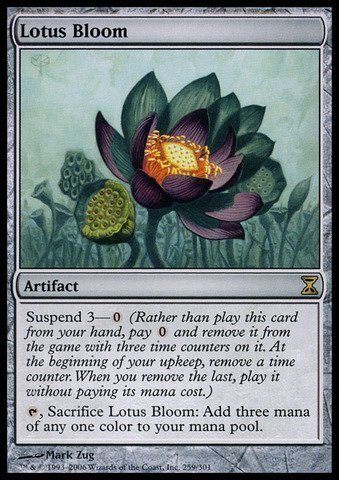 Magic: the Gathering - Lotus Bloom - Time Spiral