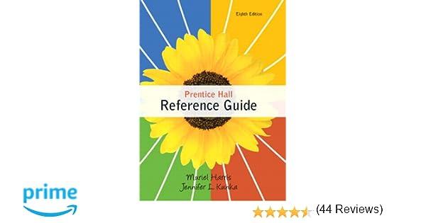 Amazon prentice hall reference guide 8th edition amazon prentice hall reference guide 8th edition 9780205782314 muriel harris jennifer l kunka books fandeluxe Gallery