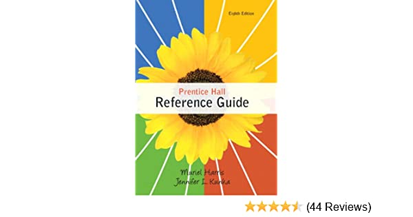 Amazon prentice hall reference guide 8th edition amazon prentice hall reference guide 8th edition 9780205782314 muriel harris jennifer l kunka books fandeluxe Images