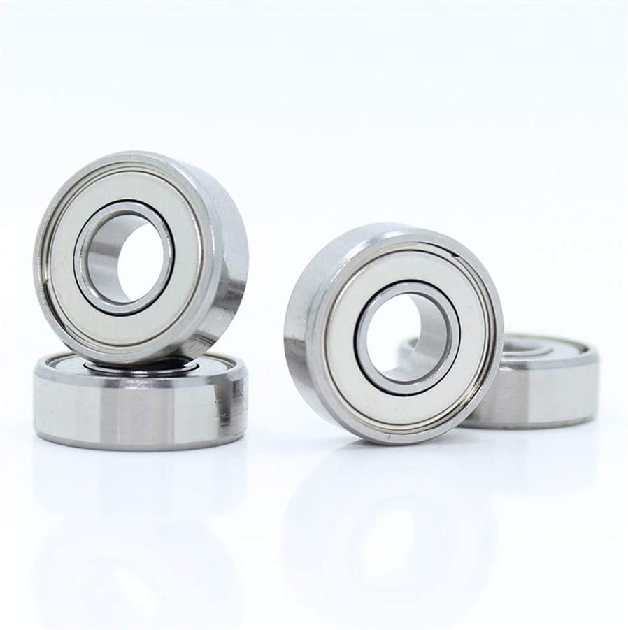 uxcell SCE65 Needle Roller Bearings 3//8-inch Bore 9//16-inch OD 5//16-inch Width Chrome Steel Open End