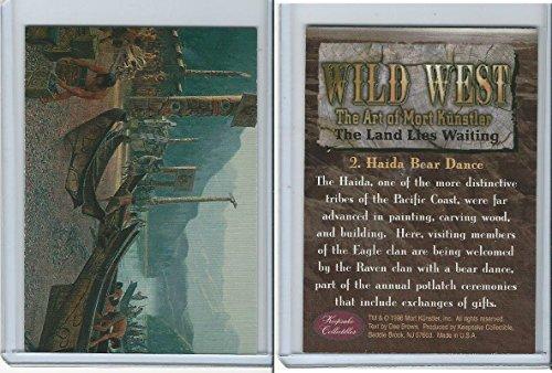 1996 Mort Kunstler, Wild West, 2 Haida Bear Dance for sale  Delivered anywhere in USA