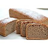 ライ麦全粒100%パン・・・混じりけなし、ライ麦全粒粉が100%で、酸味が少なく、とても食べやすいパンが実現しました。Rye whole grain 100% bread 黑麥全麥100%
