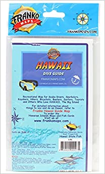 Frankos Dive Map Of Hawaii The Big Island Frank Nielsen - Map of hawaii