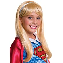 Rubie's Costume Girls DC Super Hero Supergirl Wig