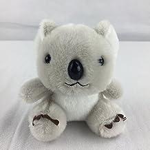 Osye Stuffed Animals Koala Car Key Chain Bag Hanging Ornaments Cellphone Pendant