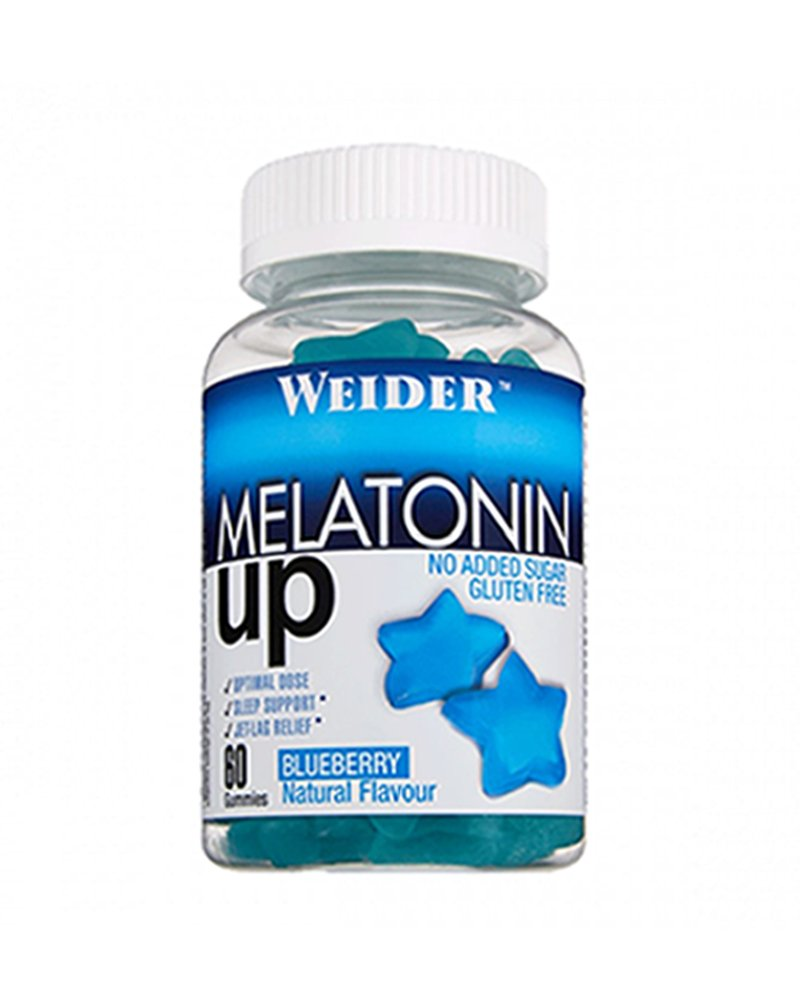 WEIDER Gummy up Revolution SIN GLUTEN Melatonina 60 Gom.: Amazon.es: Salud y cuidado personal