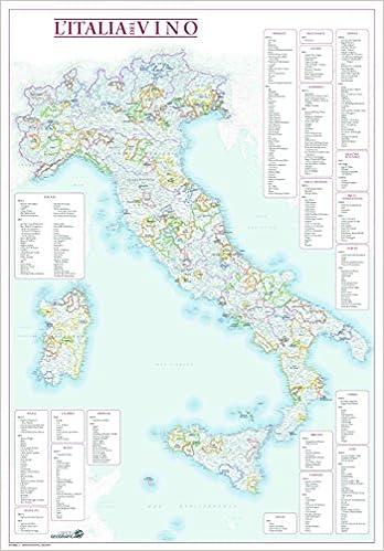 Cartina Italia Amazon.L Italia Del Vino Grafici Di Degustazione E Mappa Con Aree Di Produzione Avataneo Alessandro Manganelli Vittorio 9788869851223 Amazon Com Books