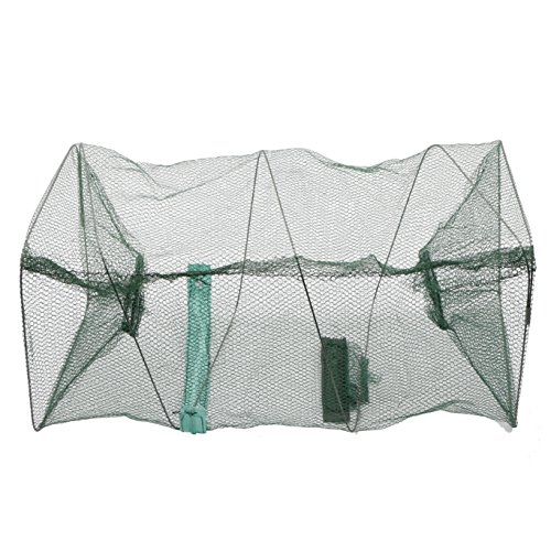 (Saltwater Freshwater Fish Crayfish Crawdad Crab Lobster Prawn Trap Net)