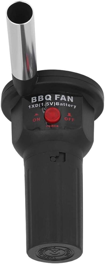 SOONHUA Ventilatore Elettrico Portatile Portatile Barbecue da Cucina Ventilatore dAria Attrezzo a Soffietto Antincendio Ventilatore Portatile Leggero Ricaricabile 5V Ventilatore dAria