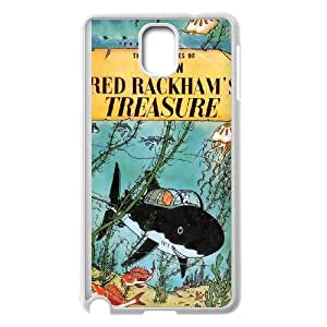 Samsung Galaxy Note 3 Cell Phone Case White TinTin cartoon Aaps