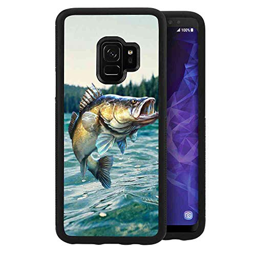 - Galaxy S9 (5.8in) Amazon Fish Cell Phone Case