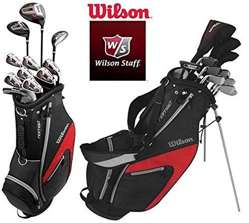 Wilson 1200 CGI Hombre Golf Set caña de grafito - Derecho + ...