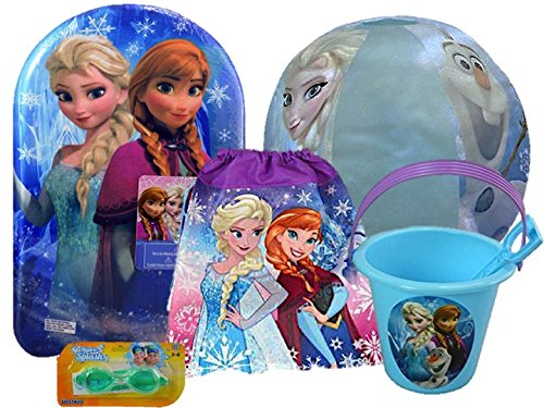 Kid's Ultimate Summer Time Fun Set-Choose from your favorite Characters: Disney Frozen, Mickey Roadster Racers, Disney Princesses and Minnie & Daisy (Disney - Swimming To Goggles Choose How