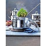 """WMF """"Diadem Cookware Set, Silver, 4-Piece"""