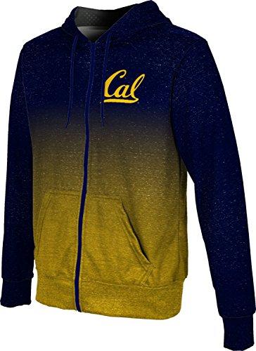 (ProSphere UC Berkeley Cal Men's Full Zip Hoodie - Ombre FCF81 (Large) )