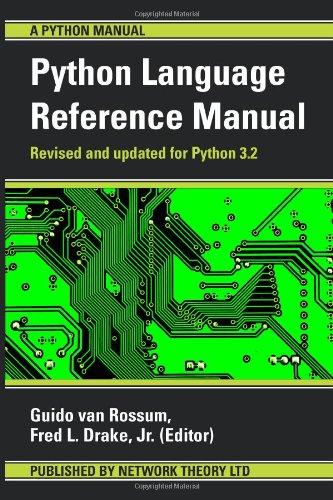 the-python-language-reference-manual-python-manual