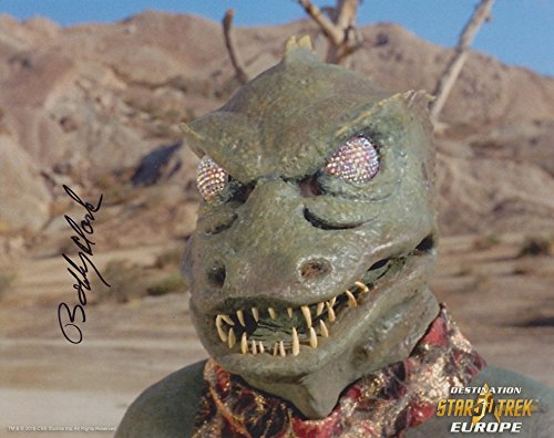 BOBBY CLARK as The Gorn - Star Trek Classic Series GENUINE AUTOGRAPH