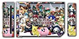 Super Smash Bros Brawl Melee Kirty Meta Knight Wario Sonic Mario Ice Climbers Marth Roy Pit Link Zelda Samus Video Game Vinyl Decal Skin Sticker Cover for the Nintendo Wii System Console