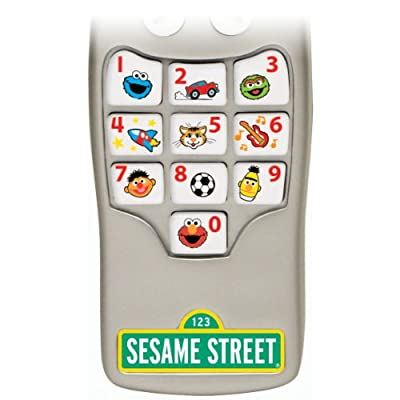 Fisher-Price Sesame Street Silly Sounds Remote: Toys & Games