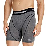 """COOLOMG Men's 6"""" Training Shorts Compression Base Layer Underwear Fitness Pants Gym"""
