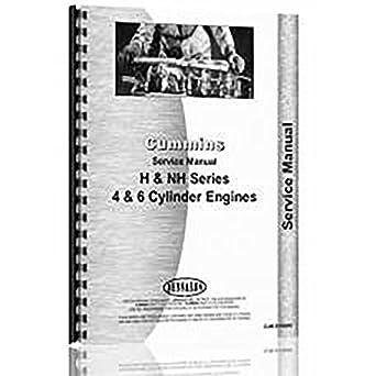 amazon com new service manual made for cummins h nh industrial rh amazon com cummins kta19 service manual pdf cummins service manual free download