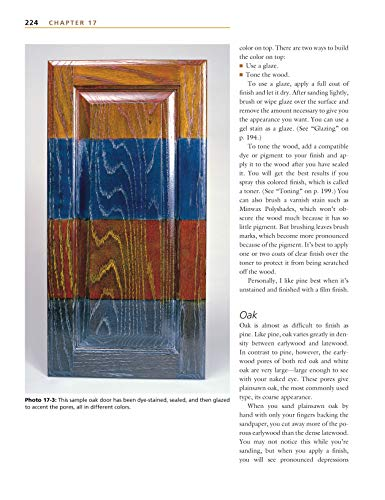 Understanding Wood Finishing: How to Select and Apply the Right Finish (Fox Chapel Publishing) Practical & Comprehensive with 300+ Color Photos and 40+ Reference Tables & Troubleshooting Guides by Design Originals (Image #6)