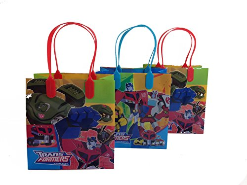 (Transformers Party Favor Goodie Small Gift Bags)