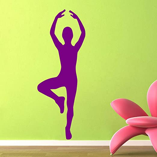 shiyueNB Car Gym Yoga Sticker Girl Gimnasia artística ...
