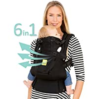 LILLEbaby The COMPLETE Airflow SIX-Position 360 Ergonomic Baby & Child Carrier (Black)