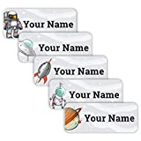 Best Kid Galaxy Laser Tags - Original Personalized Peel and Stick Waterproof Custom Name Review