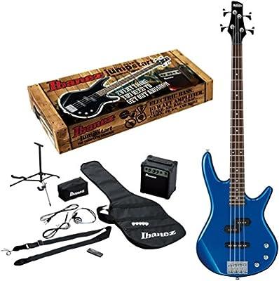 Ibanez IJXB150B Jumpstart Bass Package, Starlight Blue