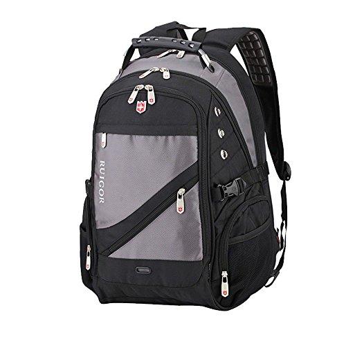 dos dos gray occasionnel haute hommes voyage de sac sac voyage capacité bandoulière de de mode à Sac XSBAO femmes à pour à wZPnR
