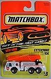 MATCHBOX NEW LOOK WHITE EXTENDING LADDER TRUCK #18
