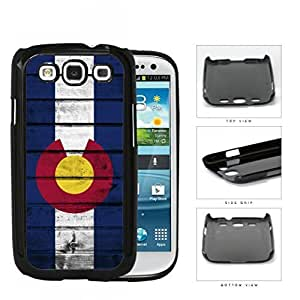 Colorado State Flag Wood Pattern Grunge Hard Snap on Phone Case Cover Samsung Galaxy S3 I9300