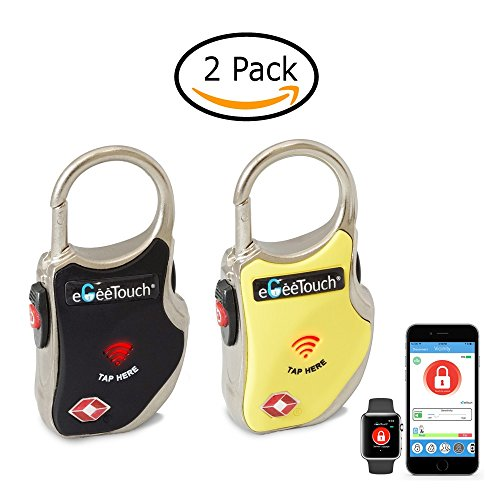 eGeeTouch Smart TSA Travel Lock-Secure & Track your Luggage anywhere you go...