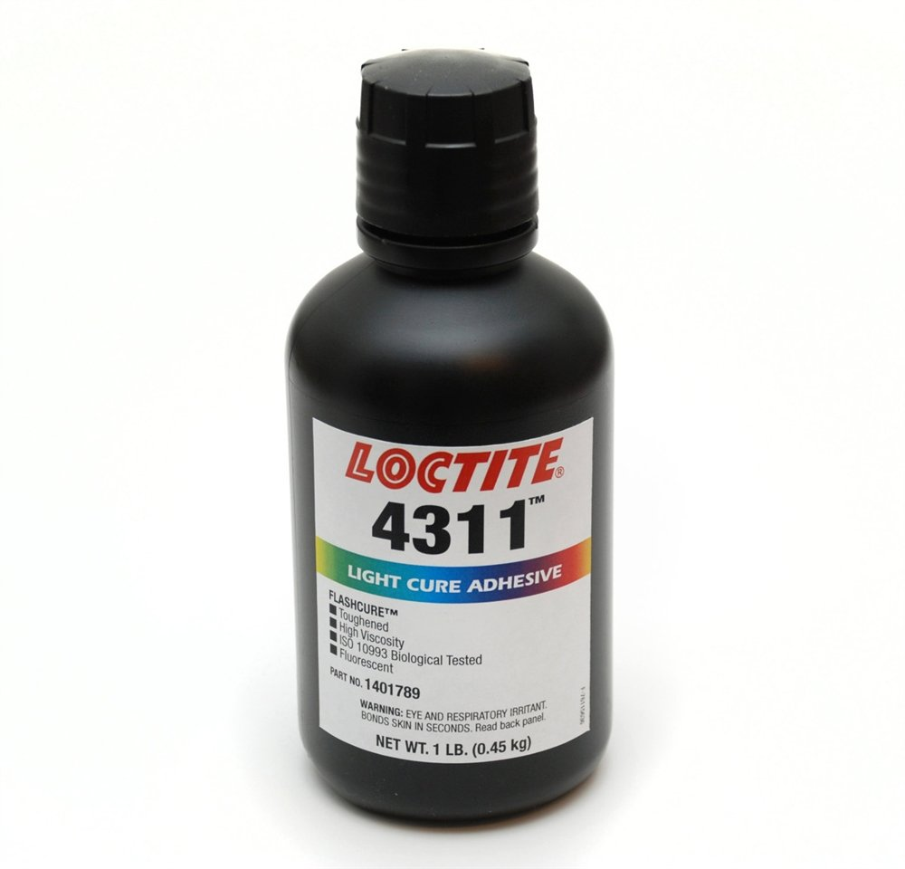 Loctite 1401789 4311 Flashcure Light Cure Instant Adhesive, 1 lb. Bottle by Loctite (Image #1)