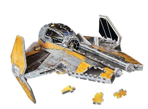 UPC 047754188653, Star Wars Jedi Star Fighter 3D Puzzle, 200-Piece