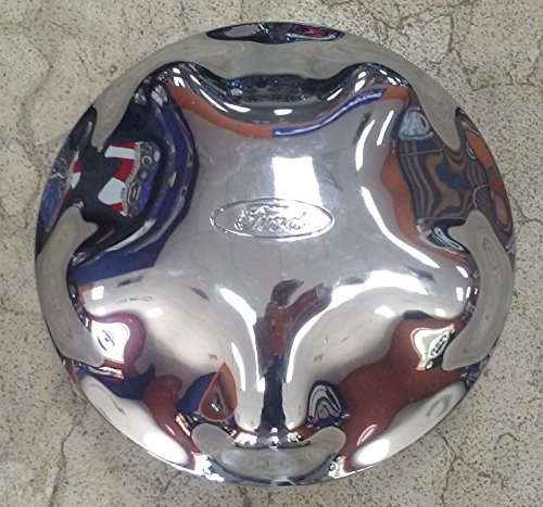 """17 INCH 1997 - 2004 FORD F-150 EXPEDITION OEM CHROME ETCHED LOGO CENTER CAP HUBCAP WHEEL COVER 3329 3398 YL34-1A096-GA XL34-1A096-CA 97 98 99 00 01 02 03 04 7.75"""""""