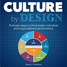 Culture by Design Audiobook by David Friedman Narrated by David J. Friedman