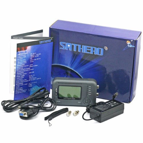 SATHERO SH200 Pocket Satellite Finder Meter DVB-S, DVB-S2, MPEG-4, CBS2 MPEG-4, ABS